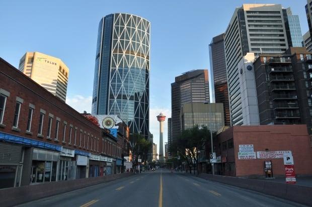 Empty Calgary