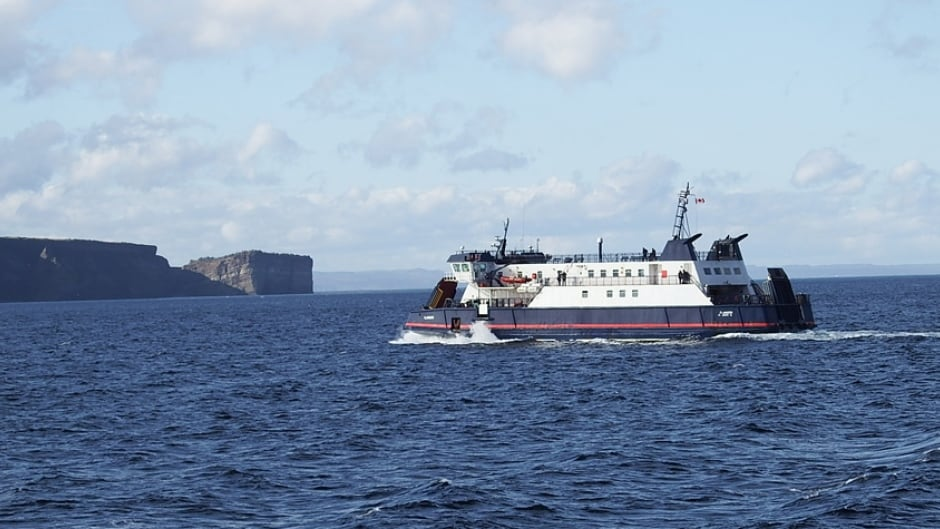 The Bell Island Ferry