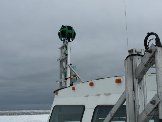 trekker camera mounted