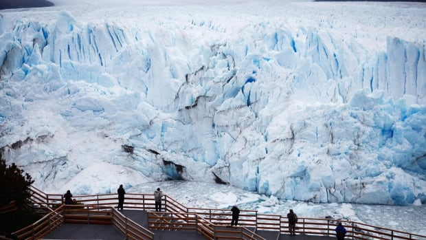 The Perito Moreno glacier is a UNESCO World Heritage site and a major tourist destination in Argentina. Getty photographer Mario Tama photographed it over a week in November. This shot was taken on Nov. 30.