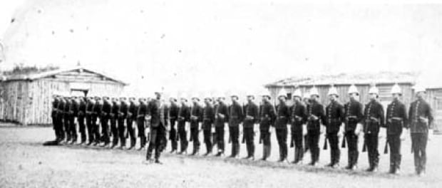North-West Mounted Police in Calgary