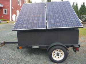 Solarmobile for Antigonish Energy Cooperative