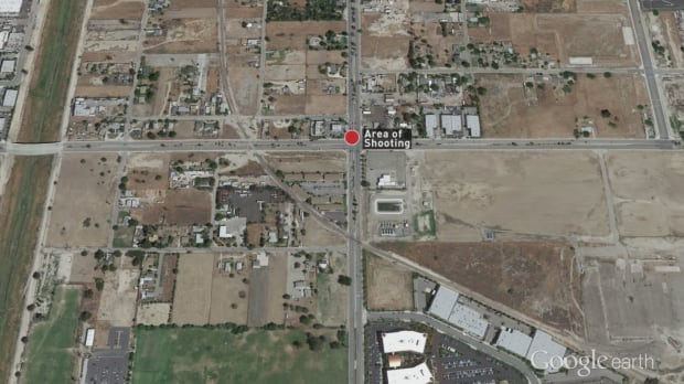 Location of San Bernardino shooting
