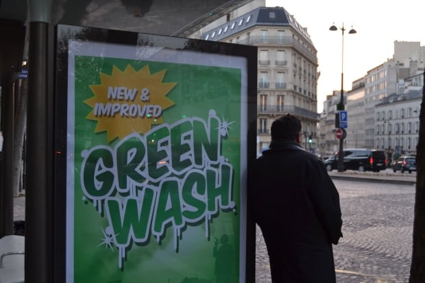 Brandalism Greenwashing
