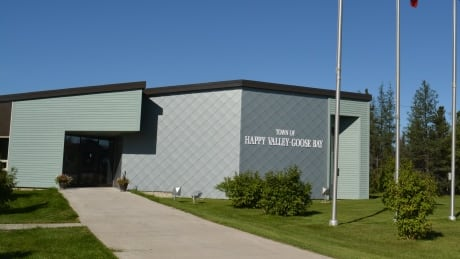 Happy Valley-Goose Bay town hall after renovations