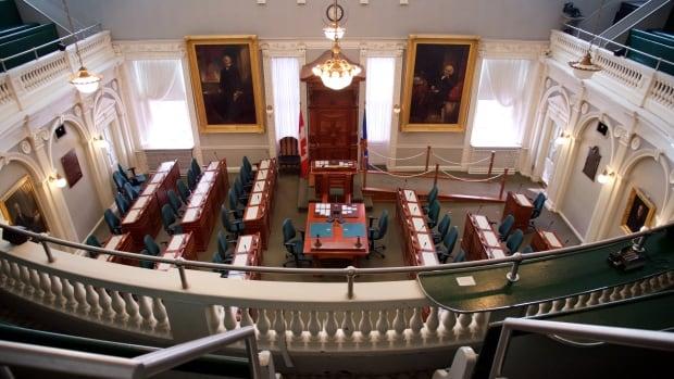 Nova Scotia Legislature assembly chamber