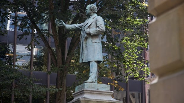 Joseph Howe helped define Nova Scotia. His statue stands in downtown Halifax. This year's Heritage Day honours his contributions to Nova Scotia.