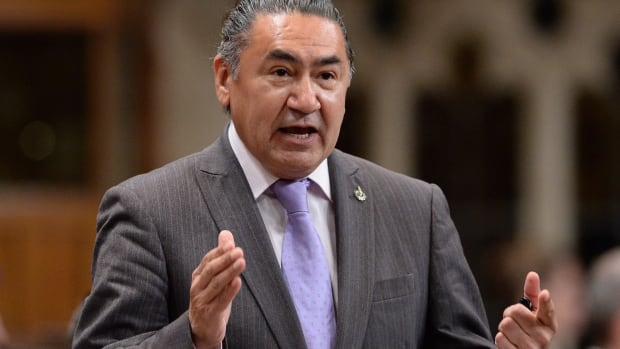 Northern Quebec MP Romeo Saganash is suggesting the oath new members of parliament take when they enter office should include an allegiance to the nation's treaties.