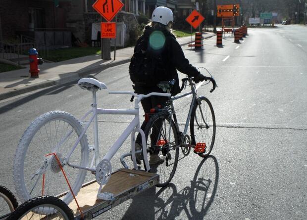 Ghost bike Claremont Access