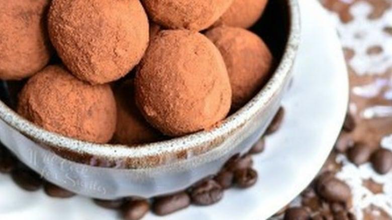 ... prepares chocolate-coffee truffles with sea salt - Edmonton - CBC News