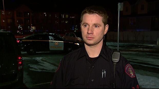 Calgary police acting Sgt. Ray Kelly