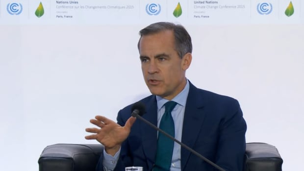 Mark Carney announces a new task force to examine how companies can show their climate-related financial risks.