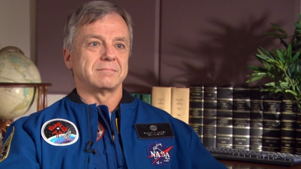 The two hours each day astronauts spend exercising when in orbit doesn't stop the deterioration of their bodies, but it slows it down, says Robert Thirsk.