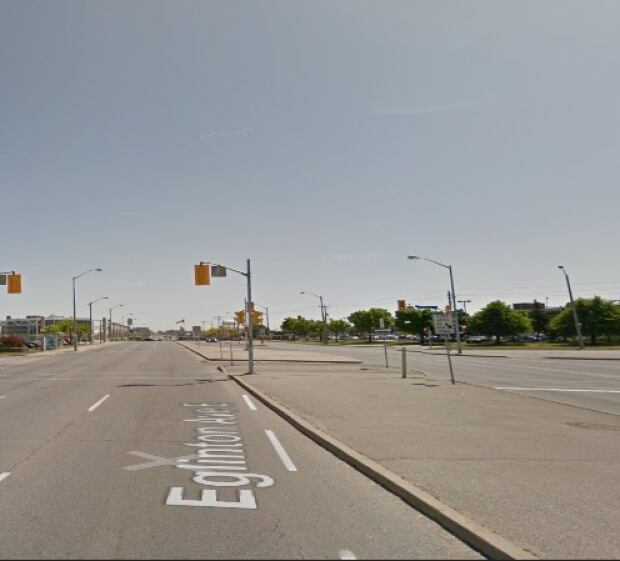 Eglinton Avenue East as it is today.