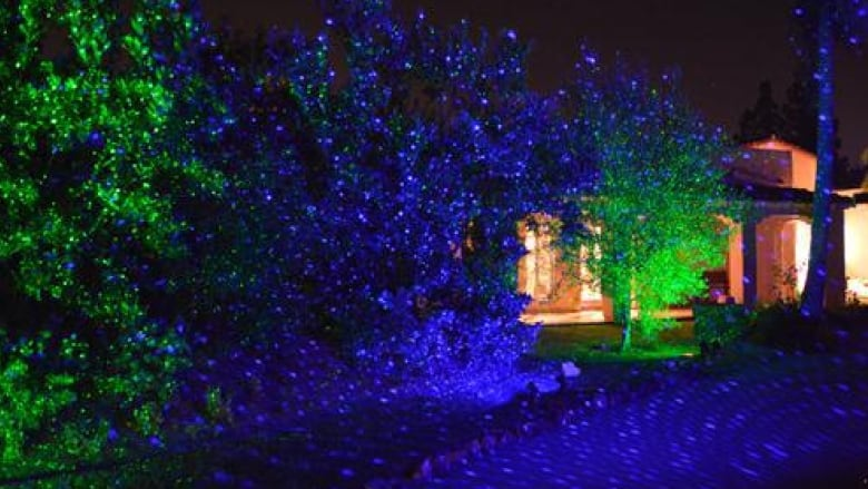 Projection lights are an easy way to decorate your home for the holidays,  but they're also easy for thieves to steal, police say. - You're A Mean One: Reports Of Thieves Stealing Christmas Lights In