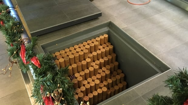 These bamboo time capsules sold as a fundraiser for the Richcraft Recreation Complex won't see the light of day again until 2063.