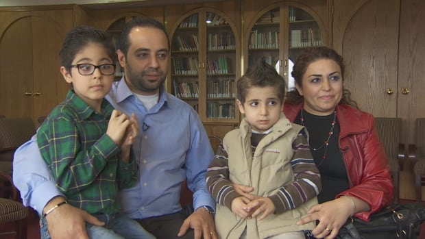 Lena and Koko Agigian and their sons say they are getting lots of help from the Armenian Community Centre in Willowdale as they adjust to life in Canada.