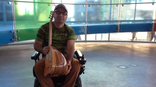 Adel Othman began learning the tambour in 2002, shortly after he suffered a spinal cord injury. His music brought him to Lebanon, where he worked with doctors and did musical therapy to help children recover from illness and trauma.