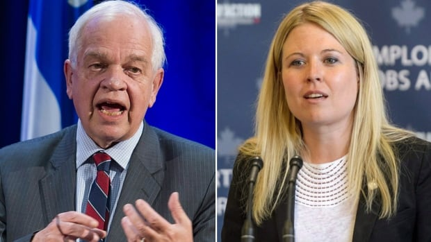 John McCallum and Michelle Rempel