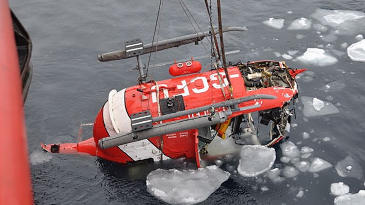 canadian coast guard helicopter crash with Arctic Coast Guard Helicopter Tsb 1 on Bell H13 Sioux further File Sikorsky UH 19B Chickasaw USAF besides Mh 60 And Rescue Swimmer furthermore Airtran 297 Terror Dry Run Or Inter  Hoax furthermore Gallery Full Mj.