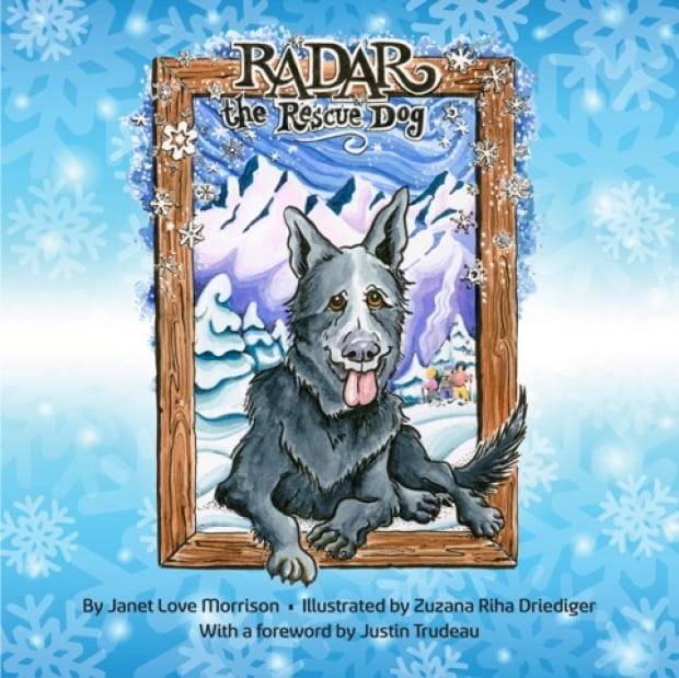 radar the rescue dog book