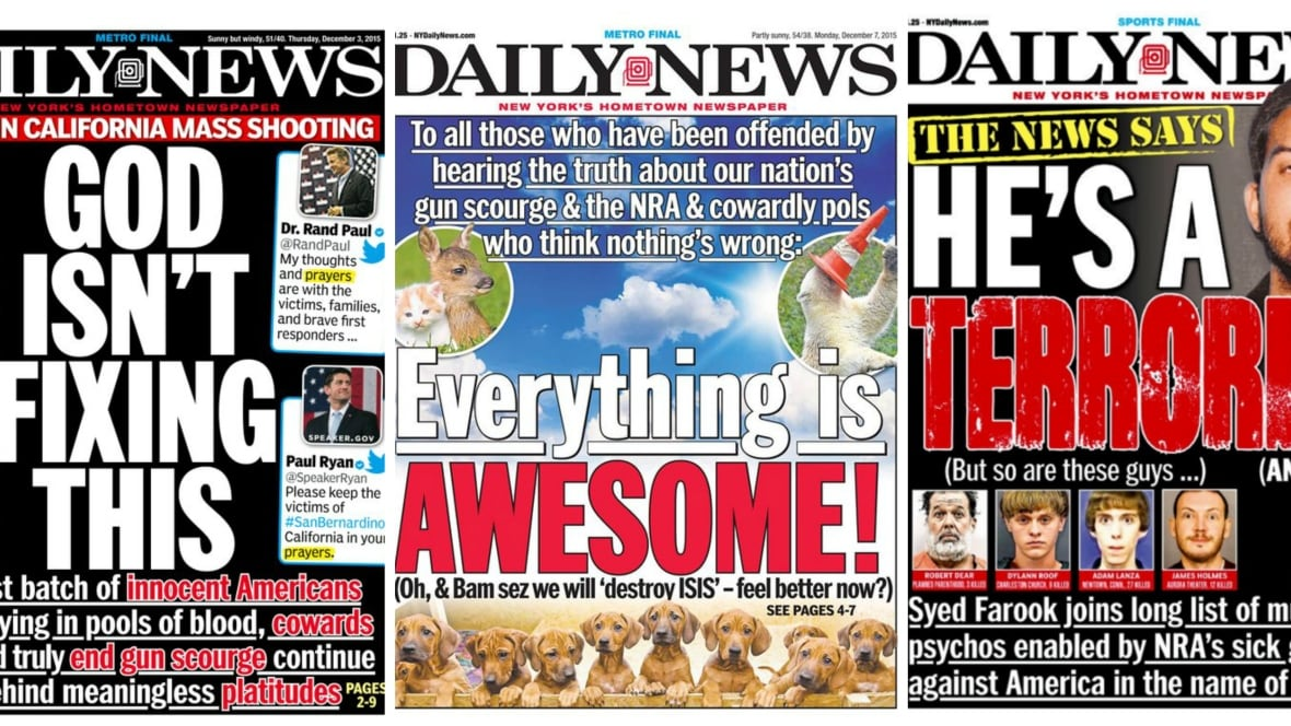 New York Daily News Front Page Hits Back. This Time With
