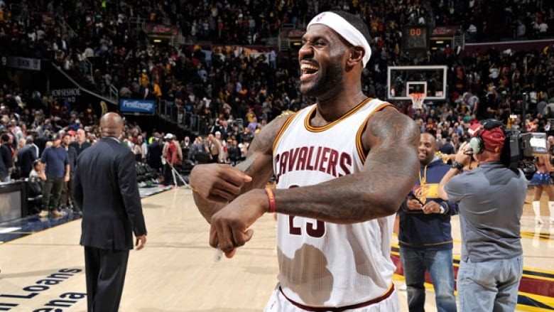 hot sale online eed33 585b5 LeBron James of the Cleveland Cavaliers has plenty of reasons to smile  after signing a lifetime endorsement contract with Nike.