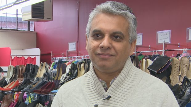 New Circles Community Service executive director Alykhan Suleman says his registered charity is looking for donations to clothe Syrian refugees coming to Toronto.