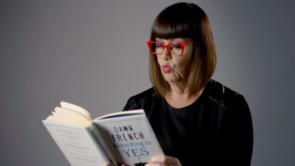 British comedian Dawn French has released a life-affirming new novel, According to Yes.