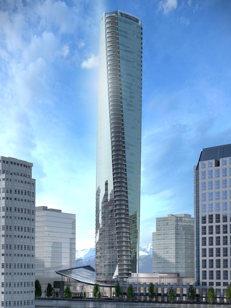 Donald Trump's anti-Muslim stance triggers Vancouver tower ...