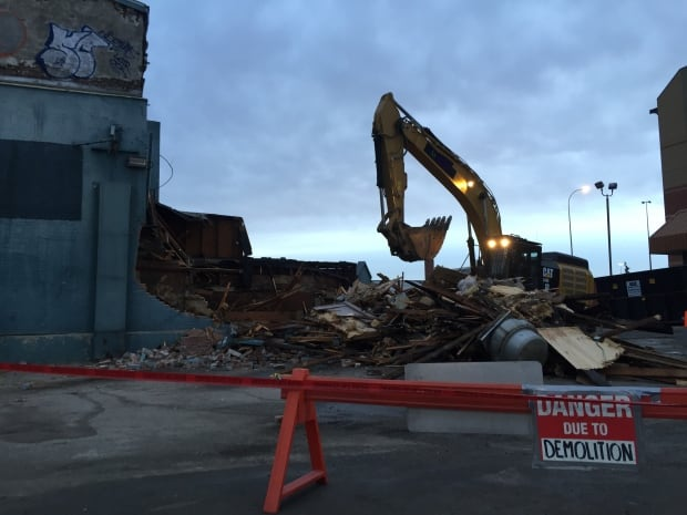 Cecil Hotel demolition