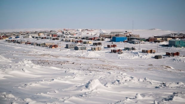 It's important for Arctic researchers to connect with communities like the one shown here, Sanikiluaq in Nunavut, say advocates.