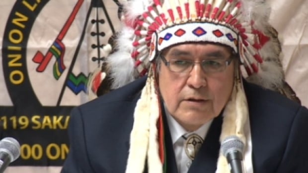 Onion Lake Cree Nation Chief Wallace Fox said his reserve has no immediate plans to open a cannabis retailer, because his council's current mandate is to root out gangs and illegal activity.