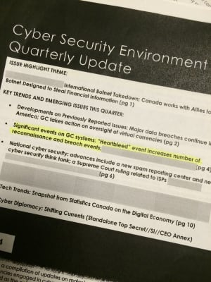 Cyber Security Environment Quarterly Update, Q2 - 2014