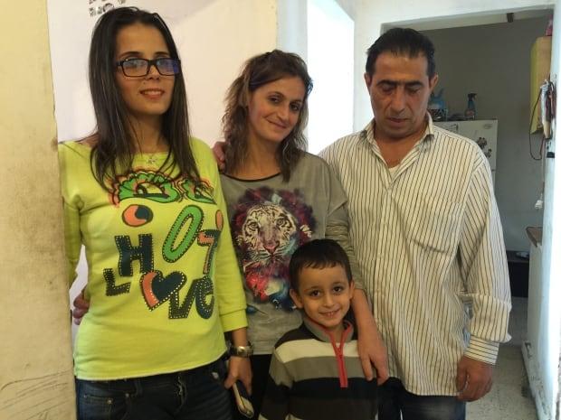 Syrian refugee family - Gulersarian's in Beirut