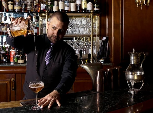 Justin Taylor bartender