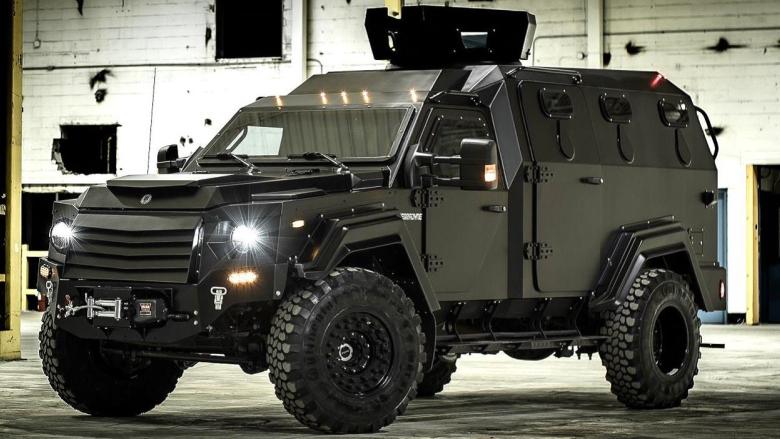 Militarizing police': Winnipeg buys $343K armoured vehicle for
