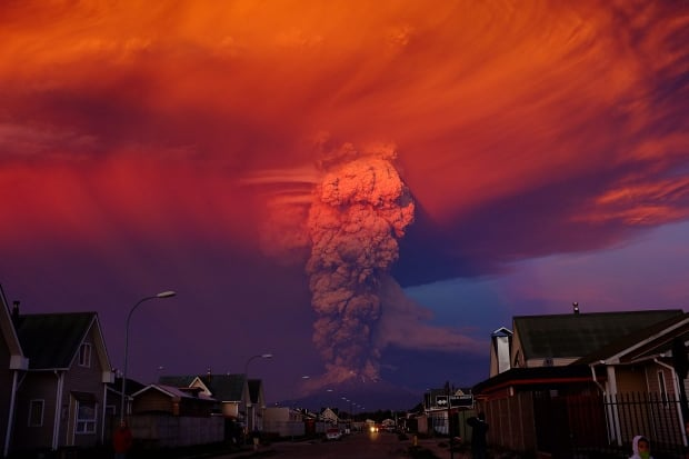 2015 photos of the year Calbuco volcano Chile April 22 eruption