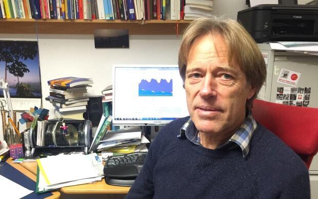 Engineer Dieter Seifried in Freiburg