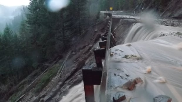 Heavy rain has washed out highways in Washington state and flooded many areas, triggering a state of emergency.