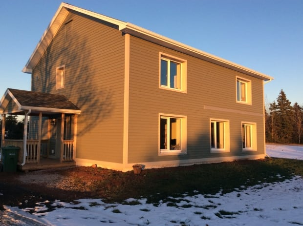 Passive house in Long River