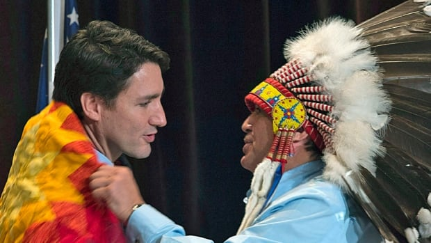 "The spending commitments to Aboriginal Peoples are considered one of the central themes of the government's first fiscal blueprint, with $8.4-billion over the next five years aimed at bringing about ""transformational change."""