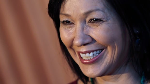 """""""I am truly honoured,"""" said Tina Keeper upon being named ACTRA Woman of the Year."""