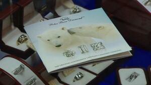 Polar bear diamond trademark