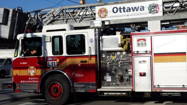 A fire investigator is looking into the cause of a fire at a highrise at 900 Dynes Rd. in Ottawa