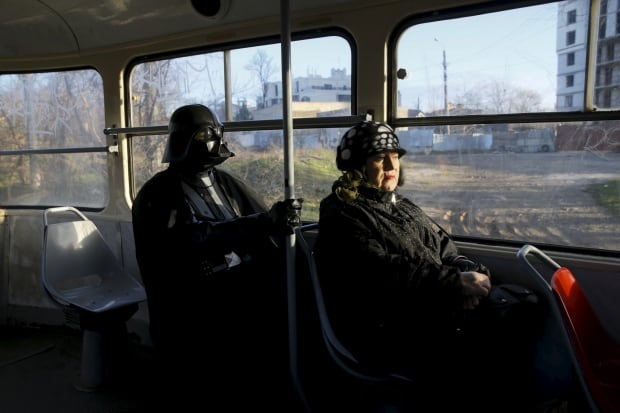 Darth Mykolaiovych Vader Ukraine Star Wars Dec 2015 takespublic transit