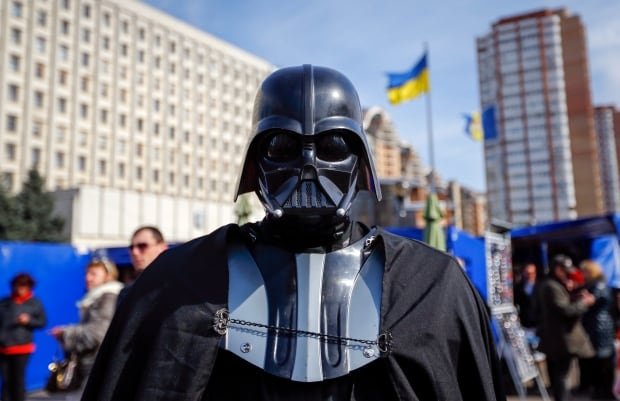 Ukraine Darth Vader April 2014 Ukrainian Central Elections Commission presidential run