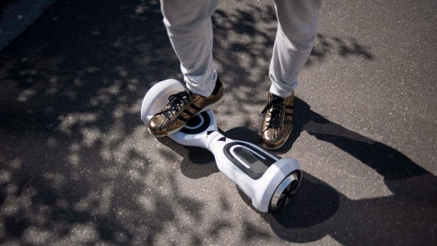 Hoverboards, also known as self-balancing scooters, don't actually hover above the ground.