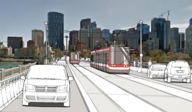 Calgary Transit Green Line option