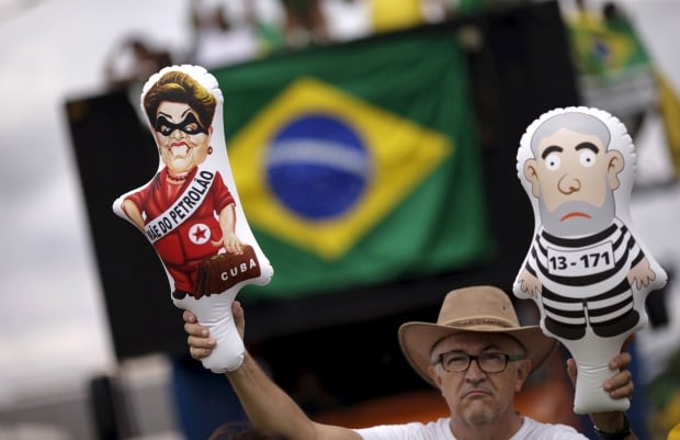 BRAZIL-PROTESTS/ROUSSEFF